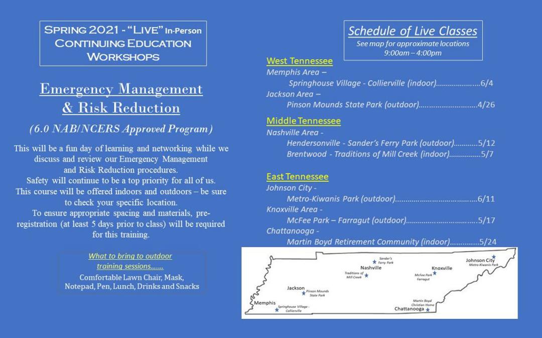 Emergency Management & Risk Reduction